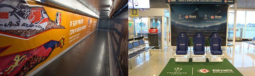 502621e9a ESPORTE INTERATIVO VAI AOS AEROPORTOS COM AÇÕES DIFERENCIADAS DESENVOLVIDAS  PELA 29HORAS