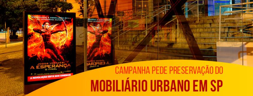 Cuide do Ponto: campanha pede preservação do mobiliário urbano em SP