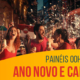 Painéis OOH celebram Ano Novo e Carnaval
