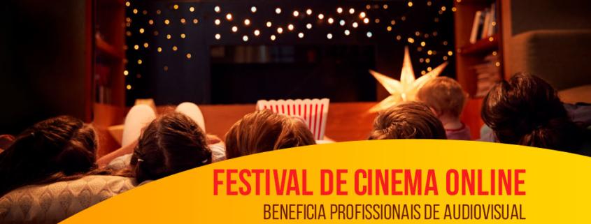 Festival de cinema online beneficia profissionais de audiovisual