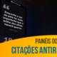 Painéis OOH destacam citações antirracistas