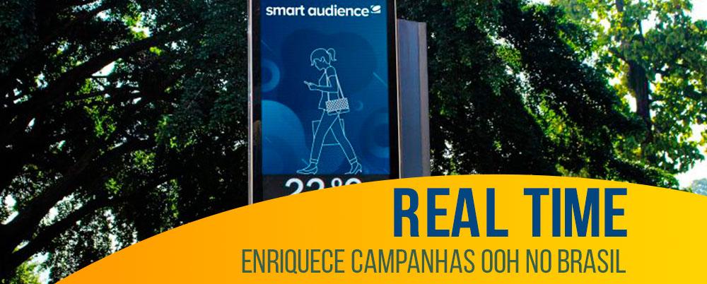 Real time enriquece campanhas OOH no Brasil