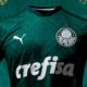 Abrigo de ônibus divulga nova camisa do Palmeiras