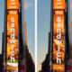 Em painel na Times Square, Popeyes conta as horas até 2021