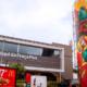 Nova fachada transforma McDonald's em espaço de arte urbana