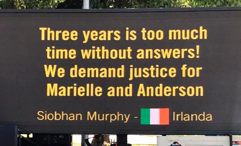 Painel OOH em caminhão pede justiça por Marielle Franco