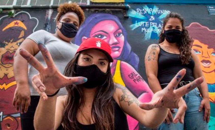 Grafite estimula empoderamento feminino
