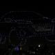 Drones e iluminação divulgam lançamento da Nissan