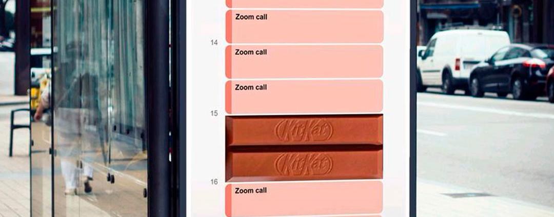 Publicitário cria anúncio fictício de KitKat