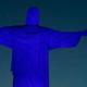 Transtorno do Espectro Autista: Cristo Redentor recebe luz azul para combater preconceito
