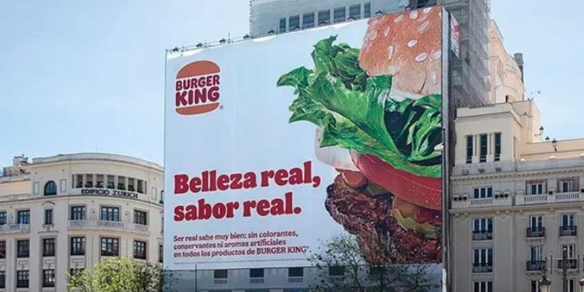Campanha do BK exalta eliminação de conservantes dos produtos